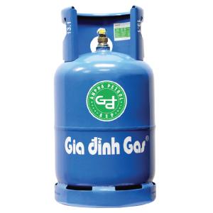 Bình Gas Gia Đình Xanh Shell 12 Kg