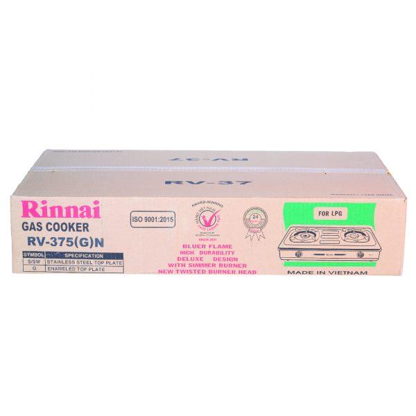 Bếp gas Rinnai RV-375G(N) chính hãng