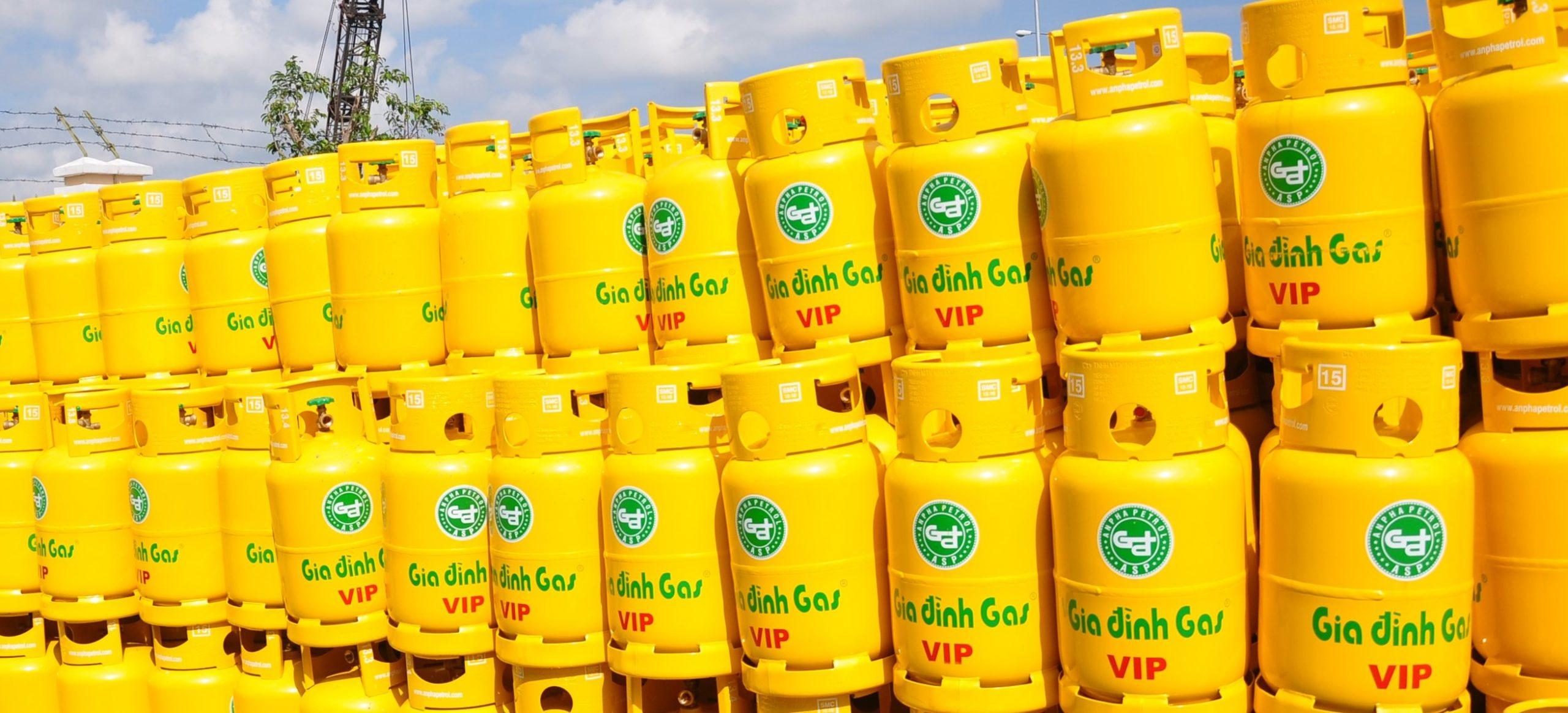 Thông báo giá bán Gas thay đổi từ ngày 01/05/2019